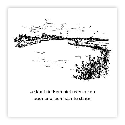 illustratie rivier de eem soest