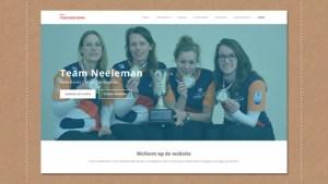 ontwerp website damescurling