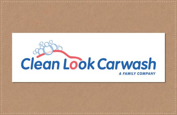 ontwerp Logo CleanLook Carwash Soest