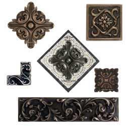 https www lindapaul com accent tile decorative onlays inserts htm