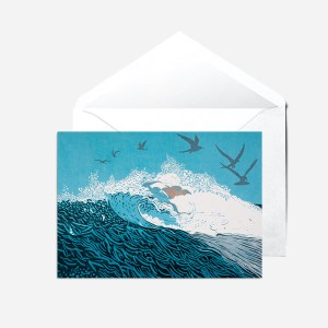Big Wave Card