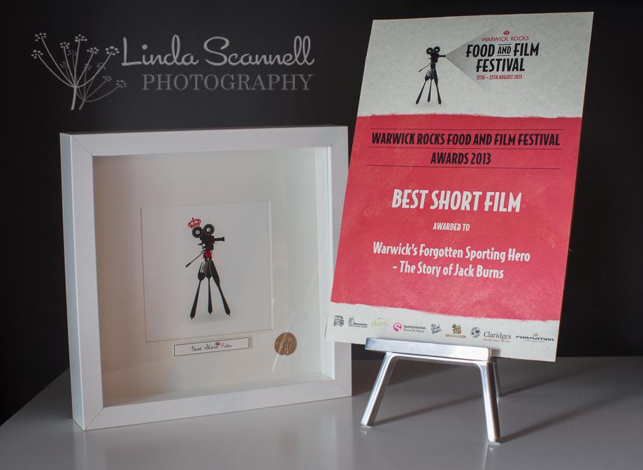 Best Short Film Award winners at the 2013 Warwick Rocks Food & Film Festival :-)