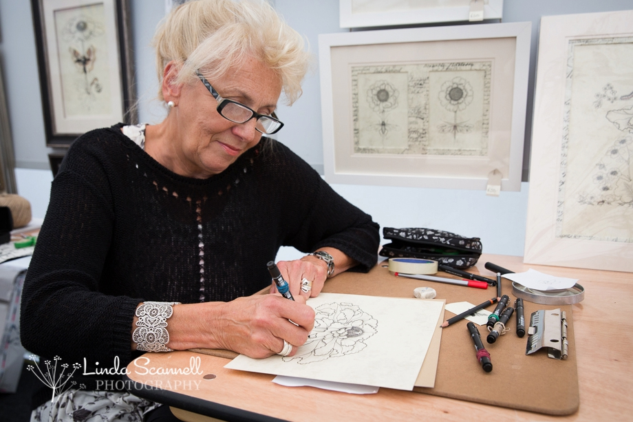 Artist at Work | Art in the Park 2015 Leamington Spa