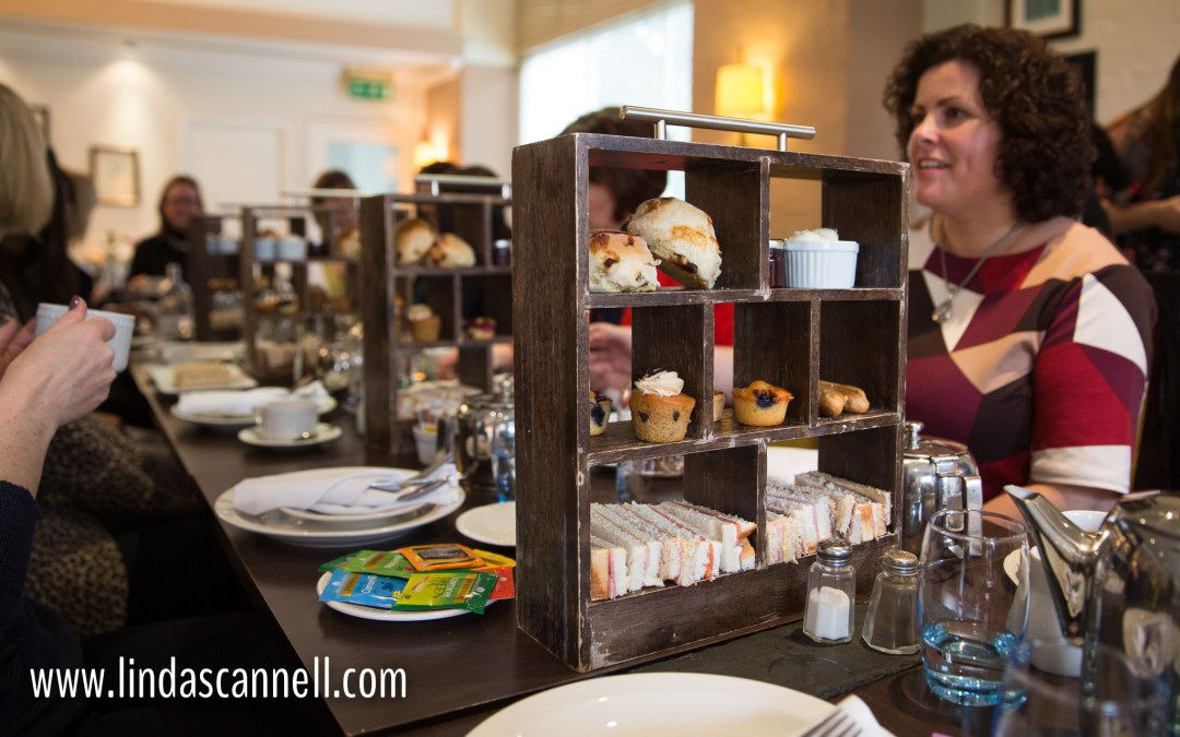 Afternoon tea | Women in Business conference | Brandon Hall Coventry