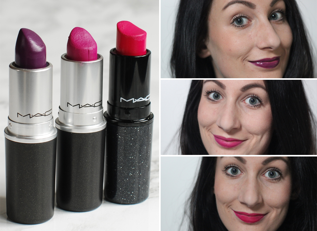 MAC Cosmetics full face lifestyle by linda Matte No Faux pass pure heroine flat out fabulous