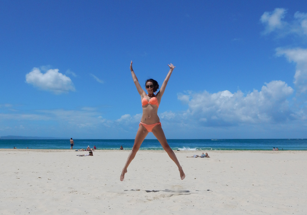 road trip Australië rondreis noosa main beach travel blogger rondreis queensland