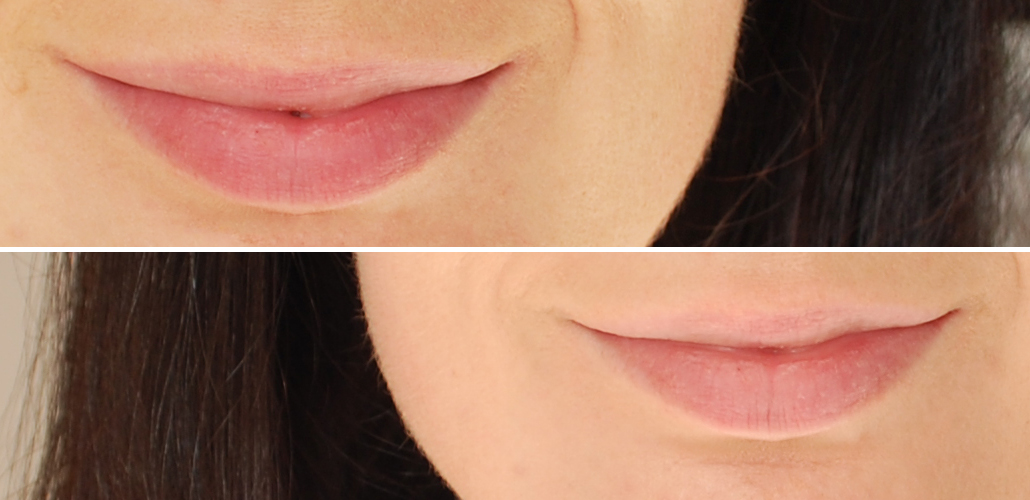 Yves Rocher zéro défaul mattifying and long-lasting lip primer swatch