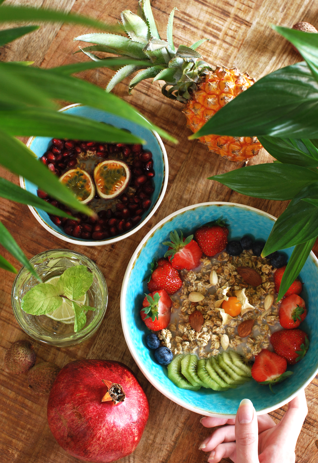 Alpro Roasted almond unsweeted unroasted breakfast bowl