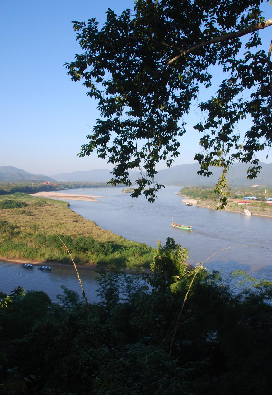 Golden Triangle Thailand Laso Birma Myanmar