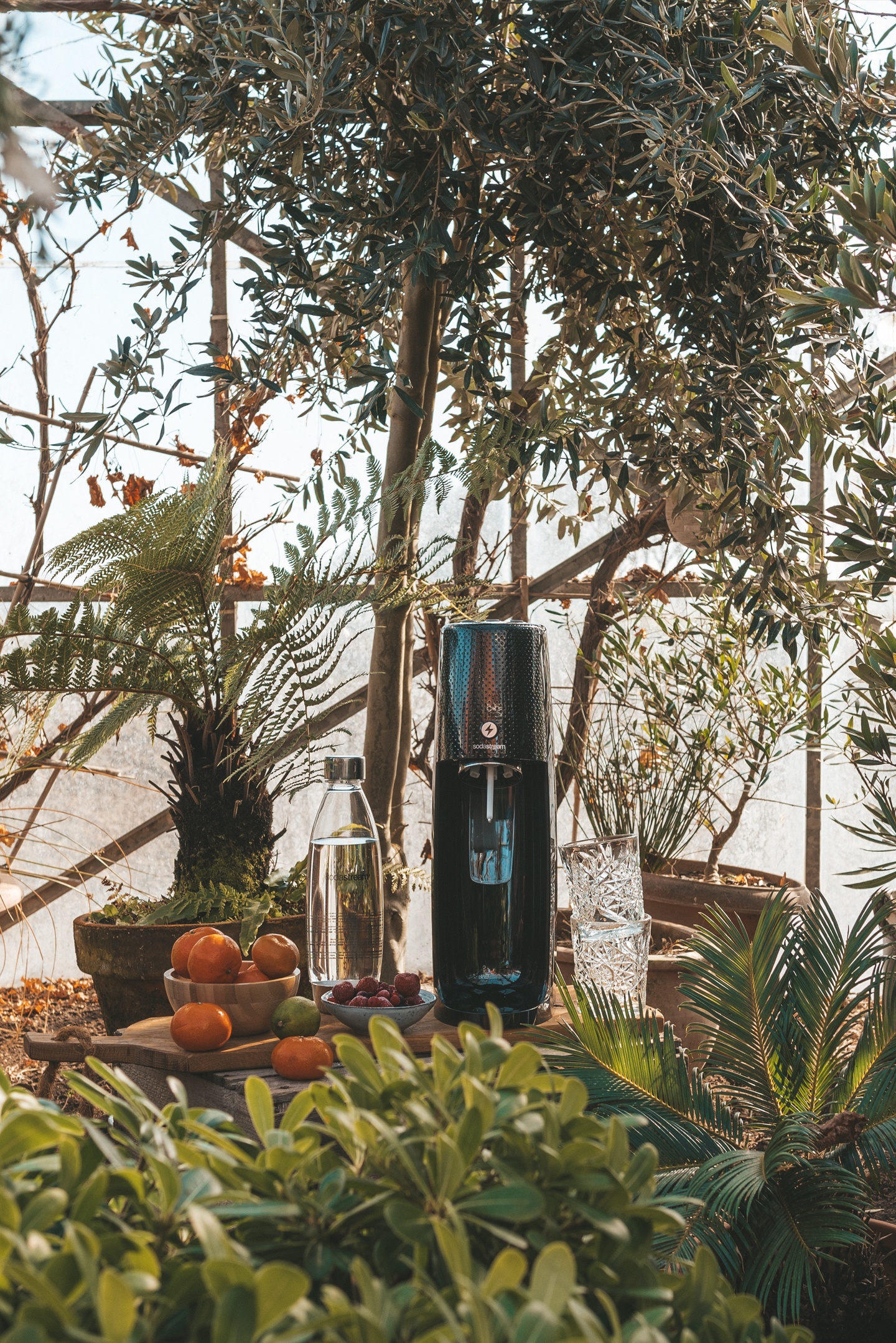 SodaStream review Spirit One Touch Zwart Linda's wholesome Life