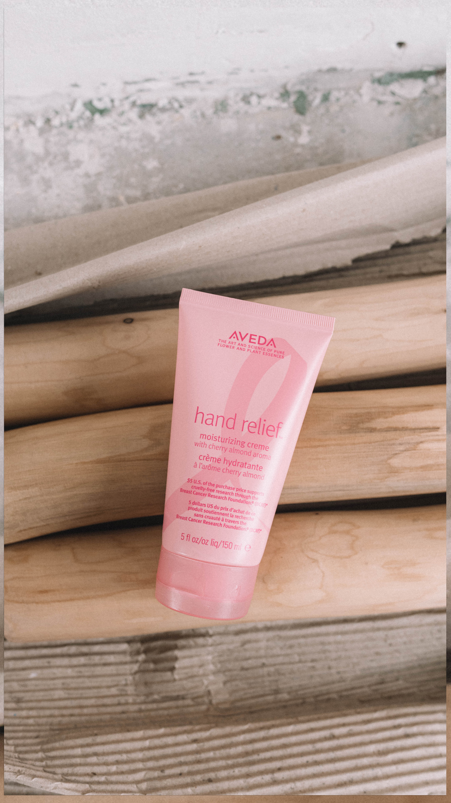 Aveda limited edition Hand Relief Pink Ribbon