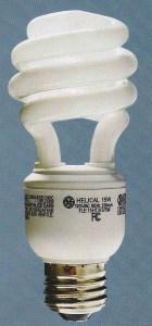 compact fluroescnet light bulb
