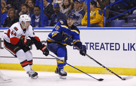 Blues Return to Ice