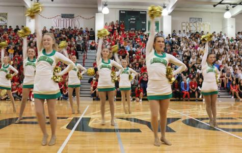 Flyers celebrate 'Back to School' with their first pep rally of the year