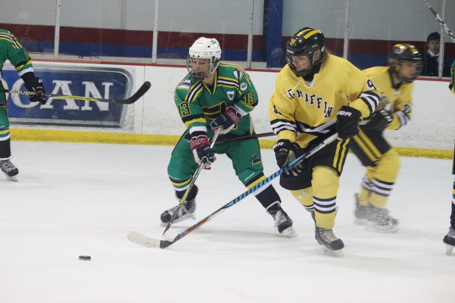 Forward, Hunter Heilmann (12, #13)