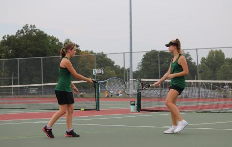 9/21 Girls' Tennis match