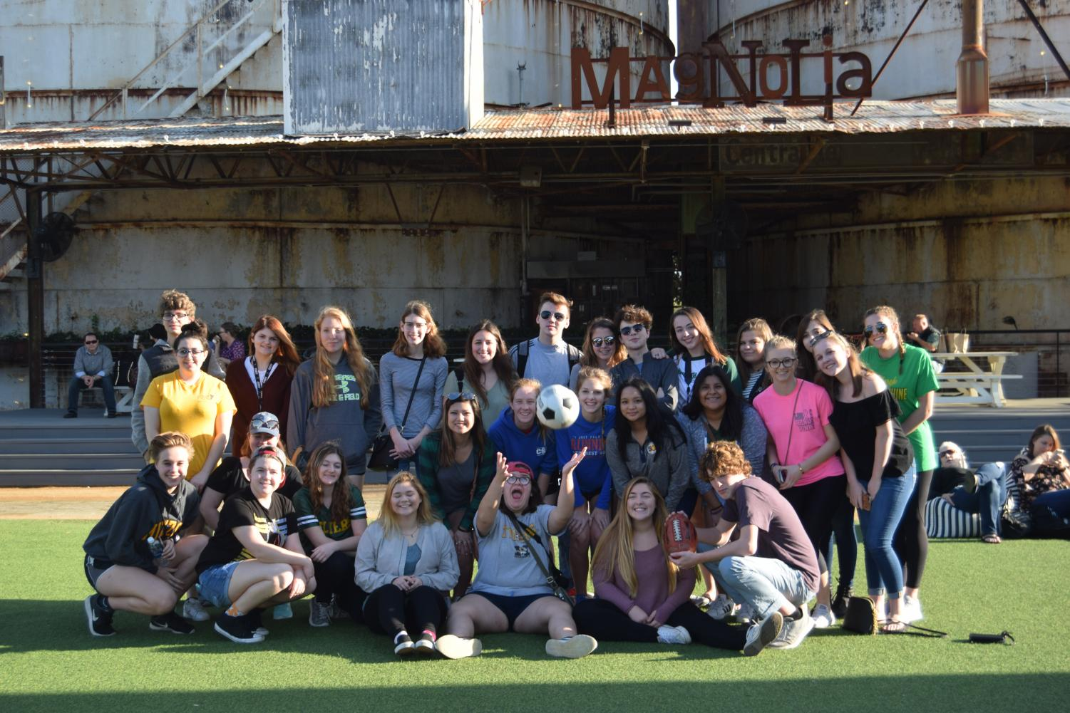 Publications visits Magnolia Silos on their way to Baylor University in Waco, Texas.