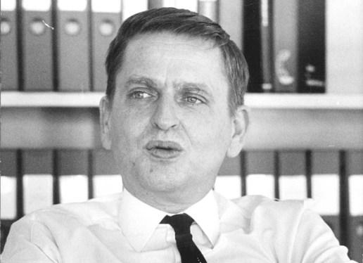 Olof Palmen 1973 (Foto: Bertil Olofsson)