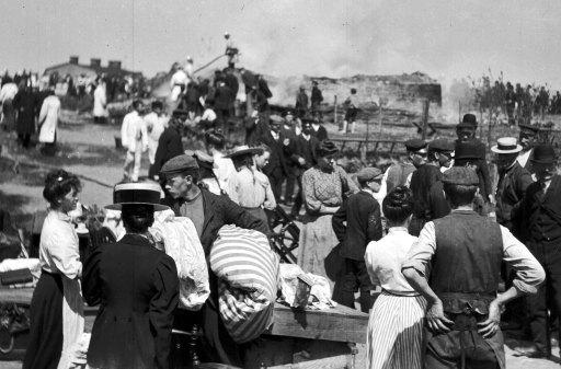 1907, eldsvåda i Göteborg