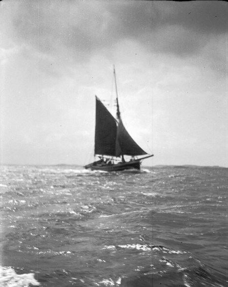 1934, fiskeskuta i Bohuslän