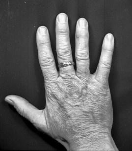 1944, fotografens hand