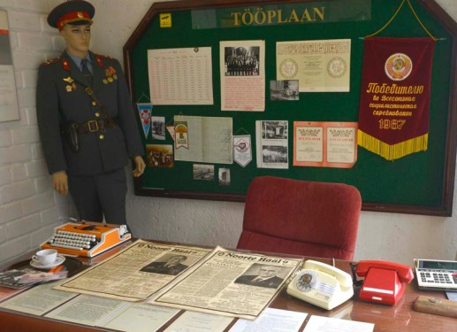Intriör från KGB-muséet