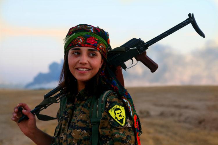 Rojava, Afrin, Kobane, Qamishli... och Syrien