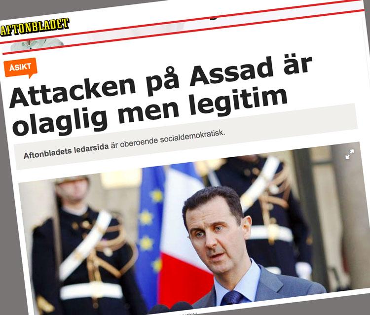 Aftonbladets propaganda varnar för propaganda