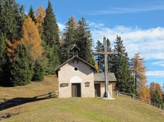 Die Kapelle der Romeno Alm
