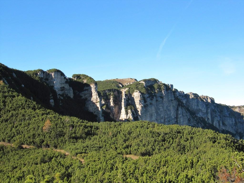 Wanderung auf den Mendelpass-Roen-Graun
