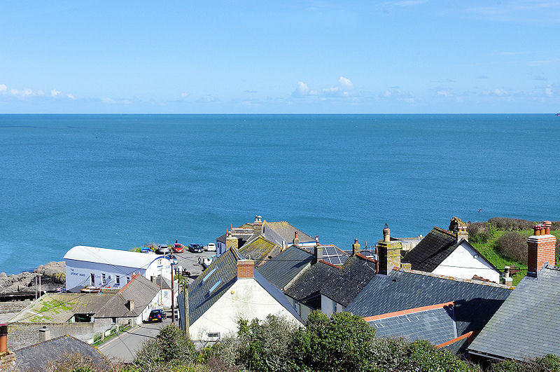 Boak Cottage view self catering cottage Cornwall