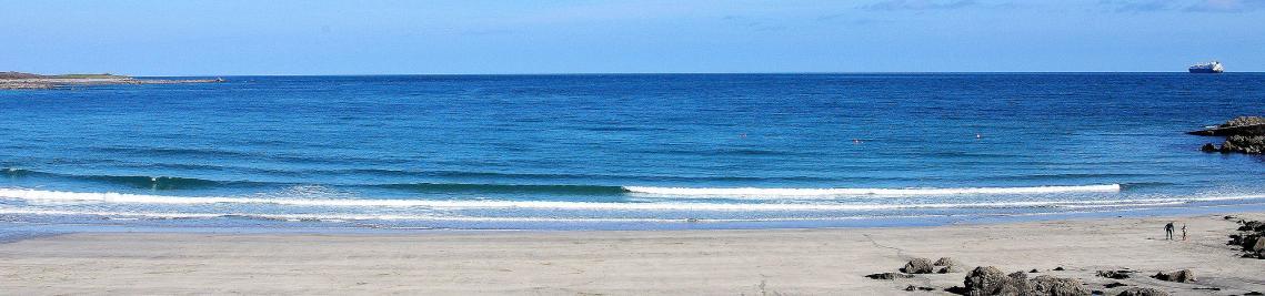 Coverack Beach Cornwall - summer