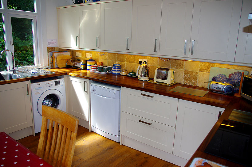 Curlew Cottage - Kitchen Utility Cornwall
