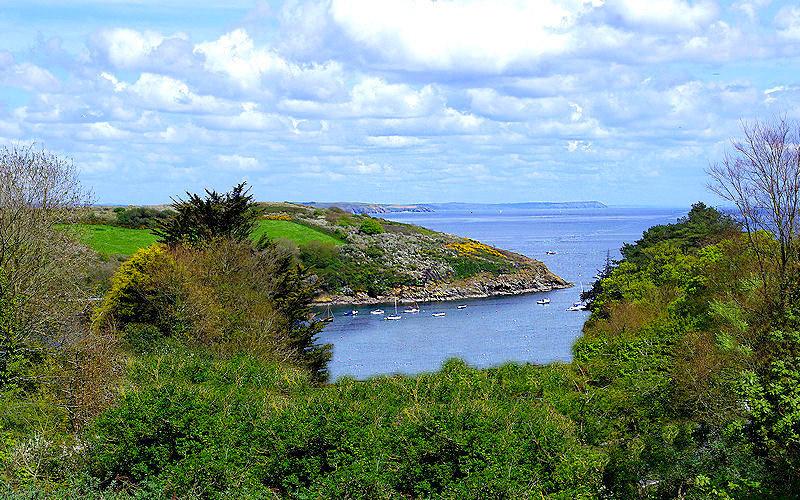 Dell Cottage sea view Cornwall