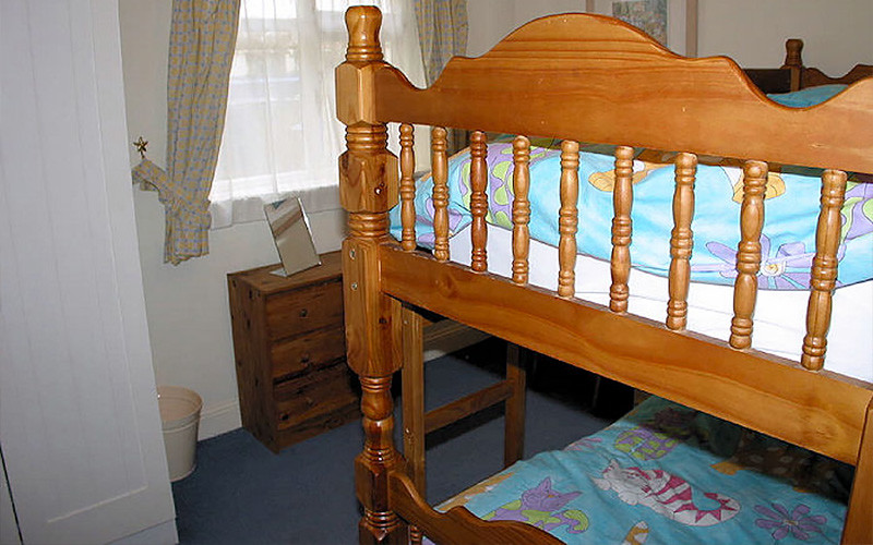 Self Catering Cornwall - bunkbeds - Cornwall Cottages