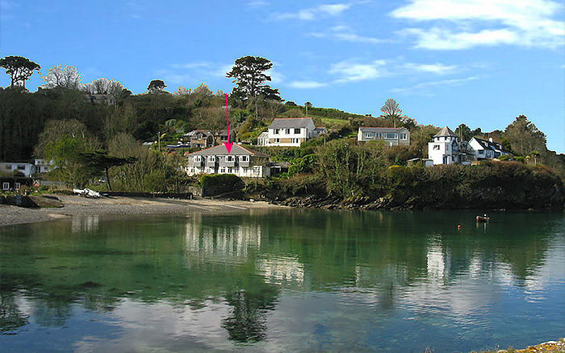 Gillan Cove on the waters edge in Helford Cornwall - Self Catering Cornwall