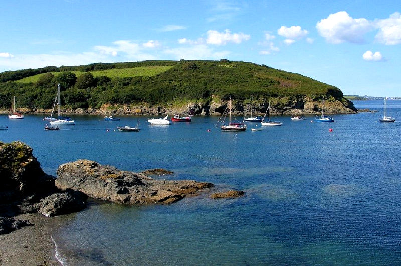 Gillan Cove Cornwall