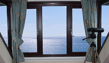 sea views from Lindford House in Cornwall