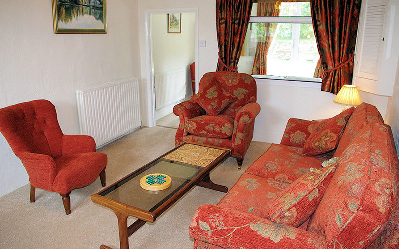 The Old Forge Cornwall - living room - self catering Cornwall