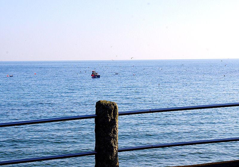 Fishing boats in Coverack Cornwall