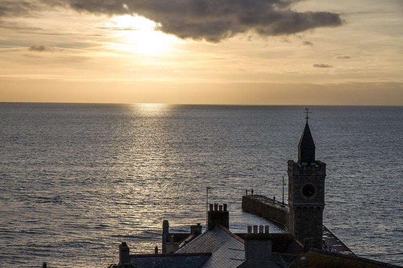 Porthleven Sunset Cornwall