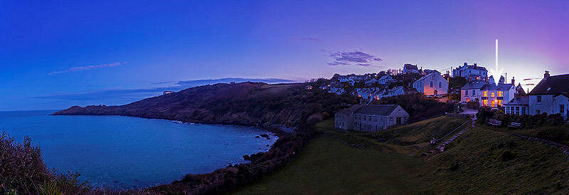 Twilight in Cornwall - Self Catering Lindfordhouse