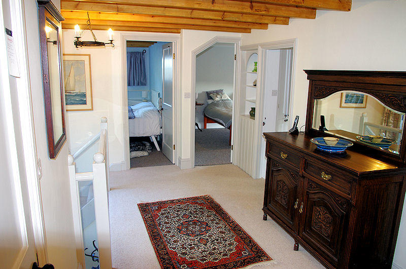 Prospect Cottage Cornwall - upstairs - Self Catering Cornwall