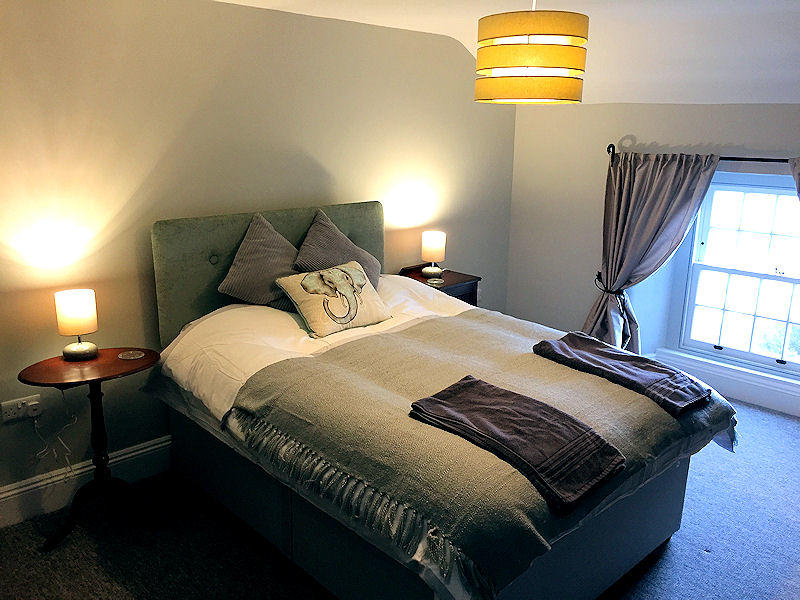 Prospect Cottage Coverack - bedrooms - Self Catering Cornwall