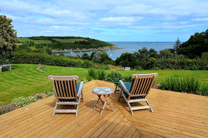 self catering cottages Cornwall - Sea Views