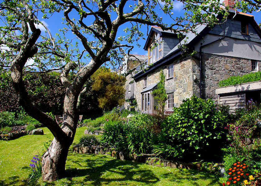 Cornish Cottages from Lindford House