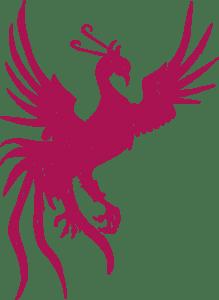 Le phénix rose