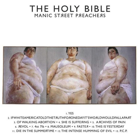 La copertina di The Holy Bible