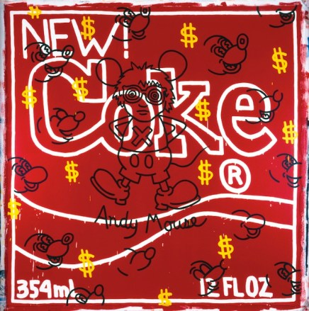 Andy Mouse - New Coke, 1985