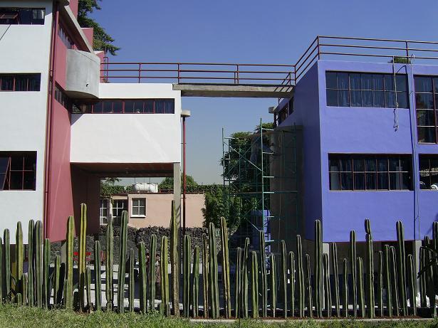 la Casa Estudio Kahlo Rivera